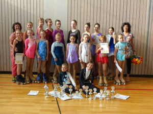 Bayerische Meisterschaft im Rollkunstlaufen 2014