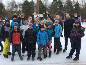 Ausflug der Solijugend Ismaning zum Schlittschuhlaufen 2018